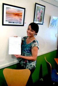 Curator of Habitat Art Exhibition